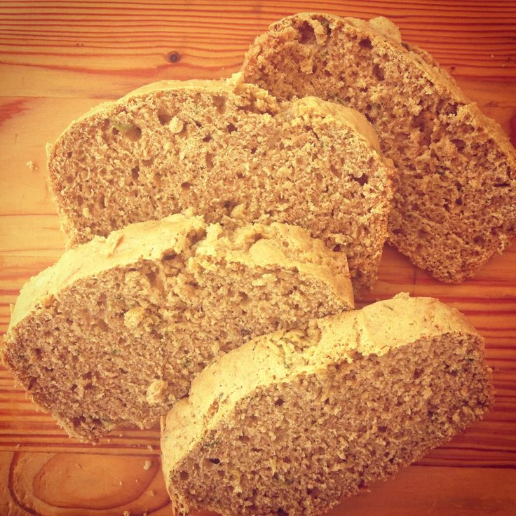 Zucchini Bread-Gluten Free | FODMAP Plan for Rory | Pinterest