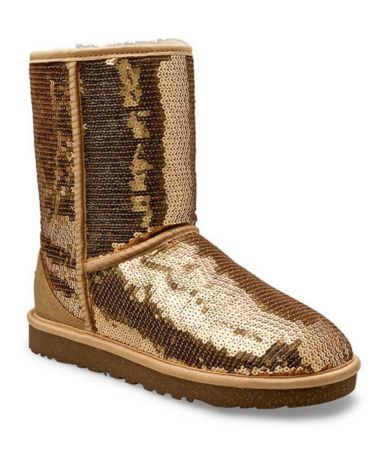 gold sequin ugg boots