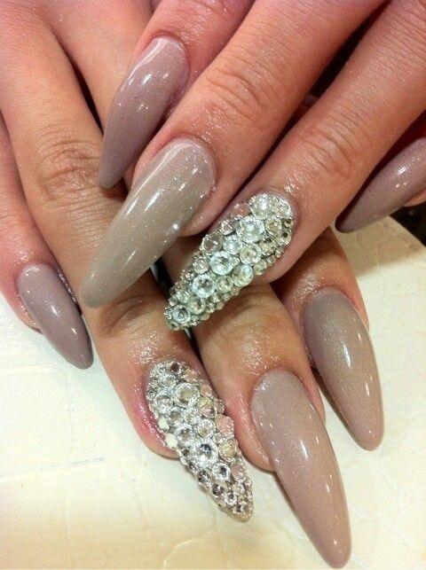 Bejeweled nails | Nails! | Pinterest