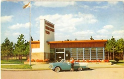 Welcome center 1950's