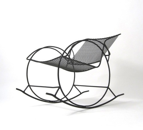 Interior Chair Design Inspiring Wrought Iron Rocking Chair