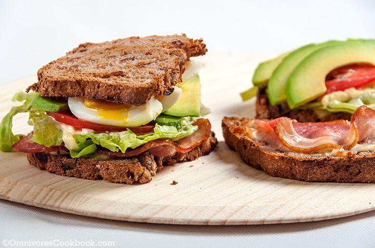Bacon Egg Avocado Sandwich | Recipe