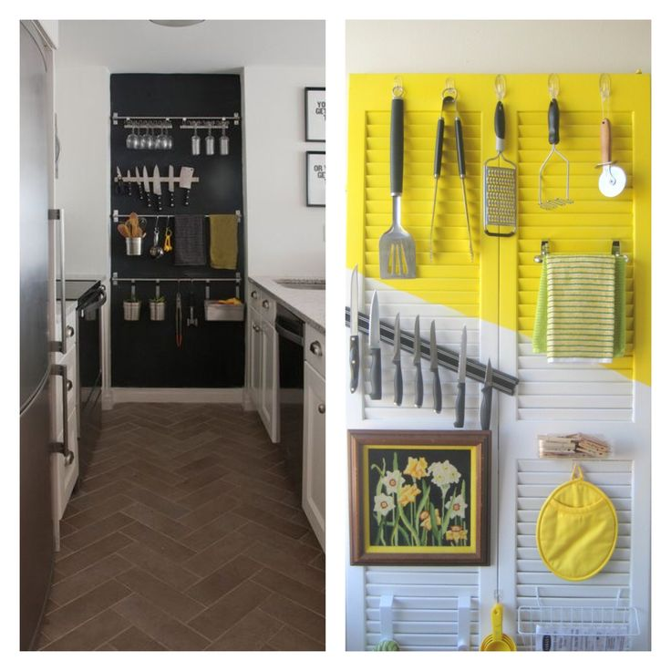 Diy Kitchen Organization On Pinterest