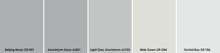 Plascon Light Greys Paint Sample Grey Colour