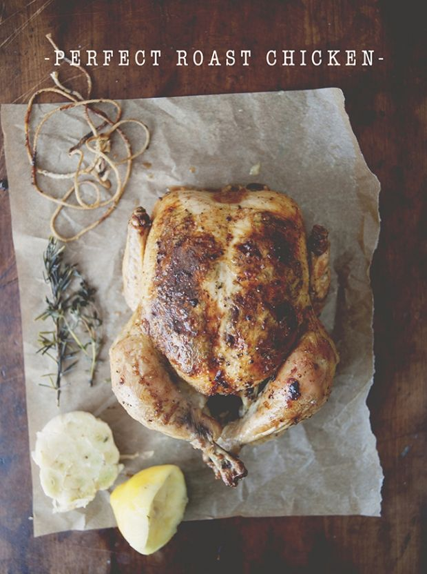 Perfect Roast Chicken | Food | Pinterest