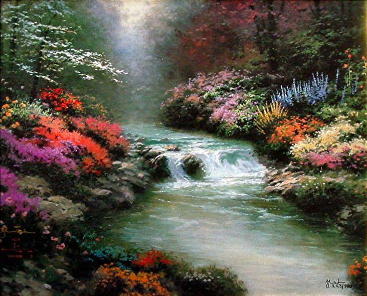 Thomas Kinkade Paintings