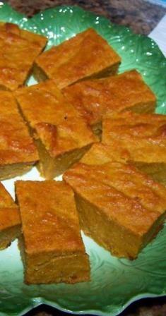 Baked Pumpkin Mochi | Softy for Chewies | Pinterest