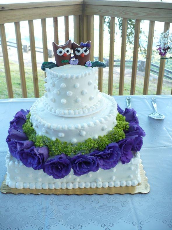 Owl Wedding Cake Unusual Wedding Cakes Pinterest