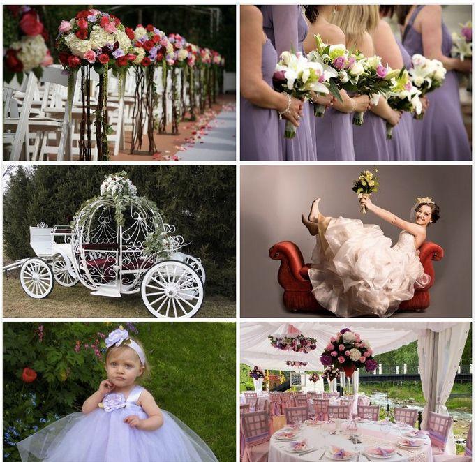 Princess Wedding Theme With Purple