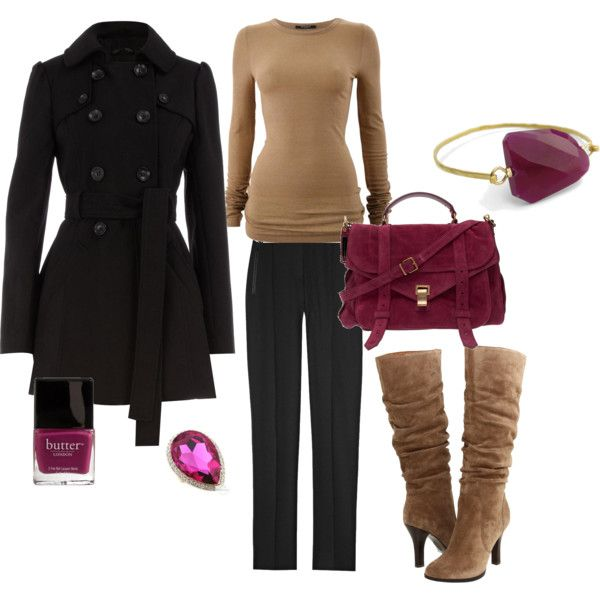 top black skinny jeans boots for work- purple peacock necklace