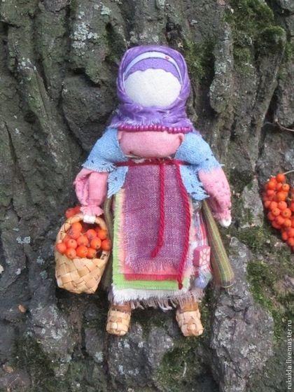 Мастер класс оберег кукла рябинка