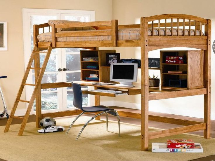 Innovative loft beds for adults small spaces pinterest - Small beds for adults ...