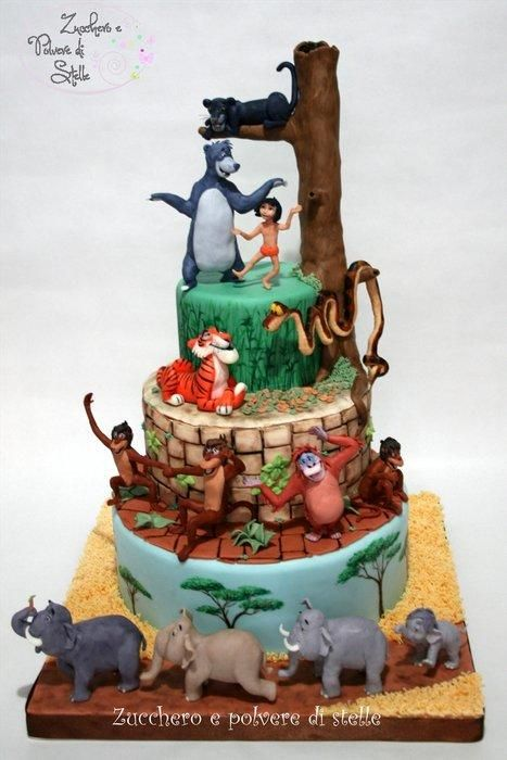 The Jungle Book Cake Disney - Crafts, Quotes & Party ...