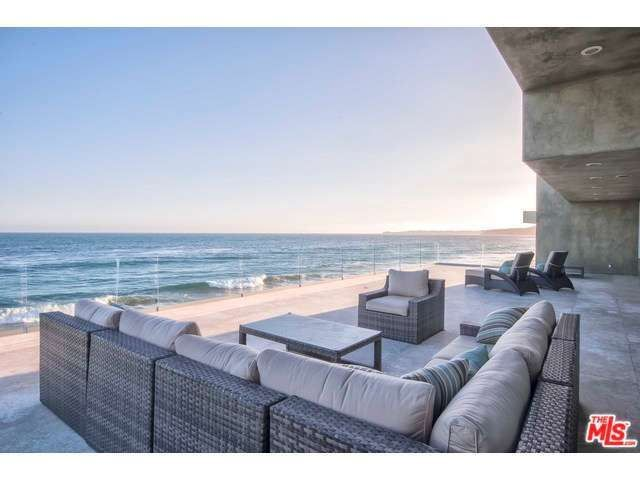 Where the ocean begins and where the patio ends are almost seamless. Malibu, CA Coldwell Banker Residential Brokerage $11,750,000