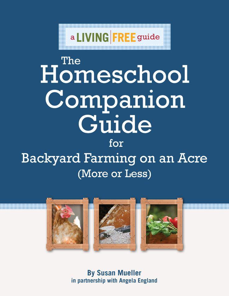 Backyard Farming Guide : Backyard Farming Homeschool Companion Guide from @Angela Gray Gray