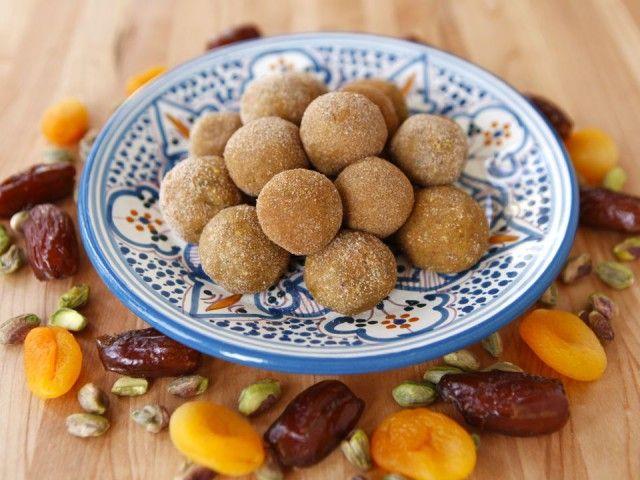 PASSOVER: Sephardic Charoset Truffles. Just made these. They're murder ...