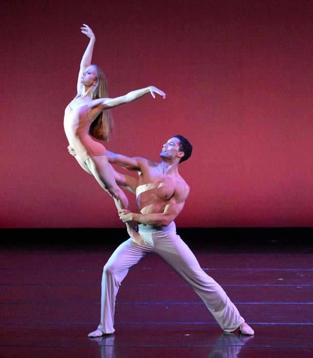 Carla Körbes of Pacific Northwest Ballet and Fabrice Calmels of ...