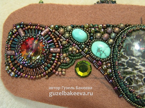 Cuff Bead Embroidery Tutorial