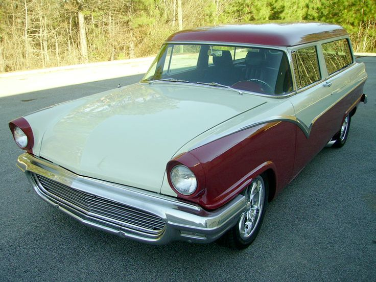 1955 ford ranch wagon for 1955 ford 2 door wagon