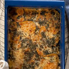 Kale and Sweet Potato Gratin Recipe | yummy in my tummy | Pinterest
