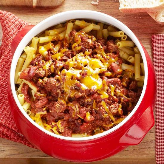 -Style Chili.For a Midwestern twist on classic chili con carne ...
