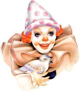 Stock faces of clowns | ILLUSTRATIONS/ CLIP ART | Pinterest