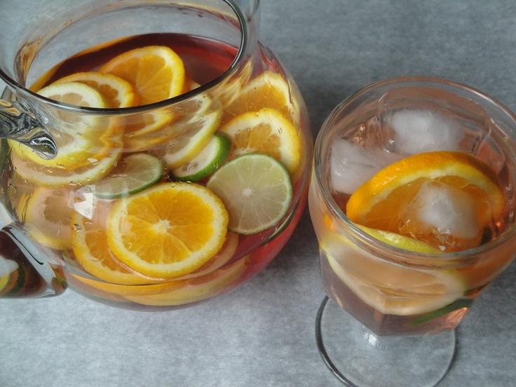 Citrus Sangria | Beverages | Pinterest
