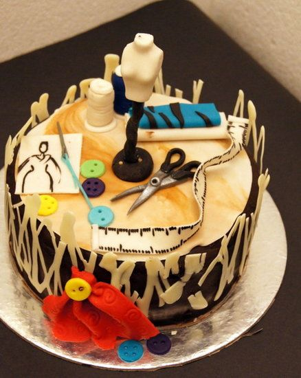 Fashion Designer Cake by ibakebyamrita Beautiful Cakes ...