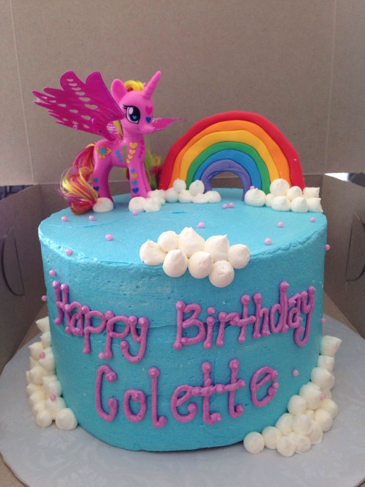 My Little Pony Birthday Cake For Sale Image Inspiration of Cake