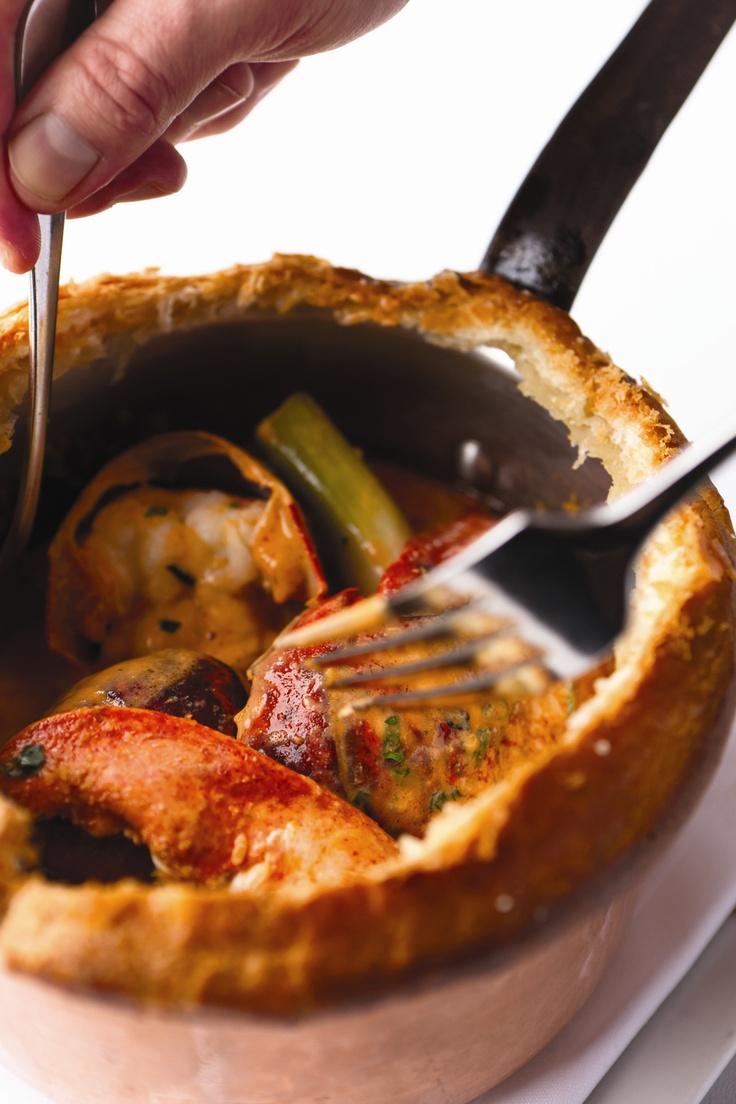 Our famous Lobster Pot Pie | Decadent Food | Pinterest