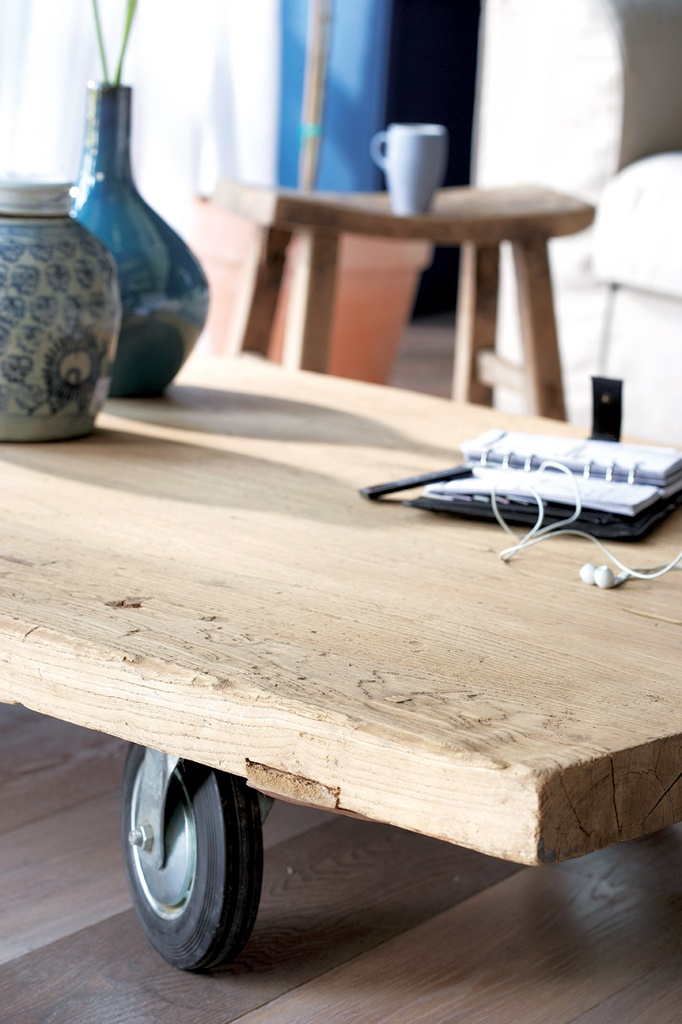 Coffee Table W Casters Living Room Pinterest