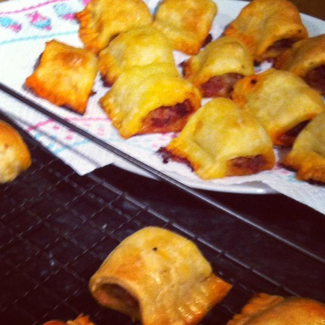 Chorizo & tomato sausage rolls | Food & Drink | Pinterest