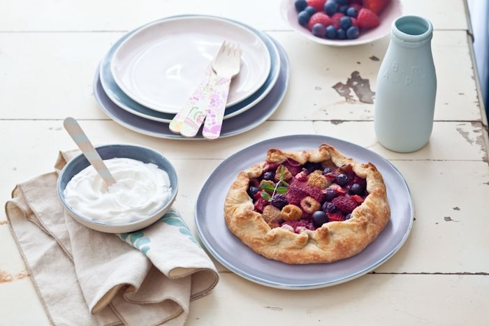 Tartelette: Mixed Berries Galettes, A Taste Of Summer