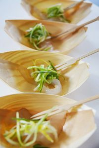 Recipe: Halibut Lox with Grapefruit and Asparagus-Fennel Slaw. Yummy ...