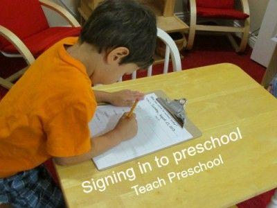 signing preschool