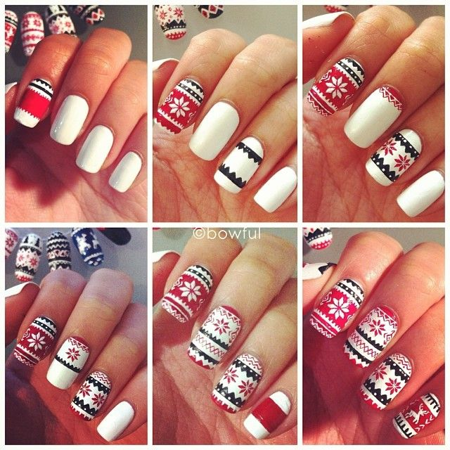 Photos by bowful — GRAMIO | Nail Art Step by Step | Pinterest