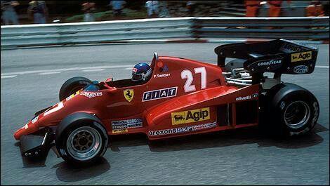 Tamblyn Ferrari f1