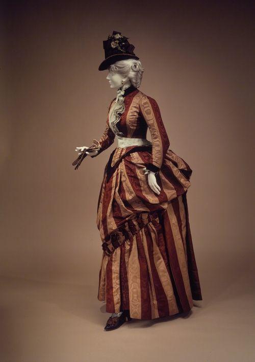 1888 House of Worth Dress  Designer: Charles Frederick Worth, Bourne