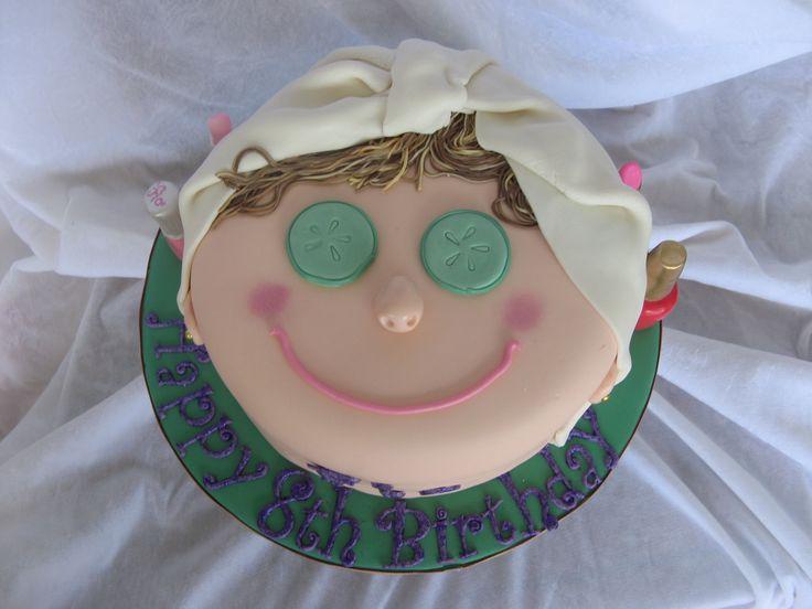 Spa cake idea