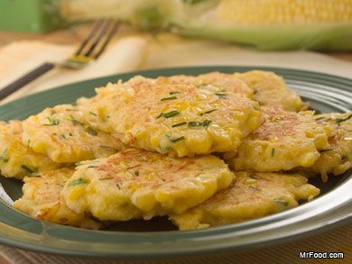 Fresh Corn Cakes — Celebrate the start of summer with this simple ...