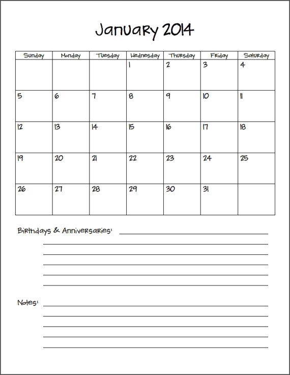 2017 8 X 11 Calendar Printable   Search Results   Calendar 2015