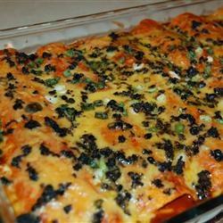 Angela's Awesome Enchiladas--aptly named! I used those precooked ...