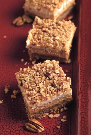 Pumpkin Cheesecake Crumble Squares A favorite from the '70s, pumpkin ...