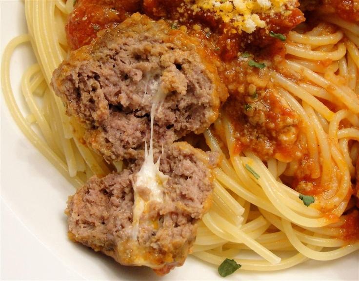 Meatballs For Patsy's Meatball Lasagna Recipe — Dishmaps
