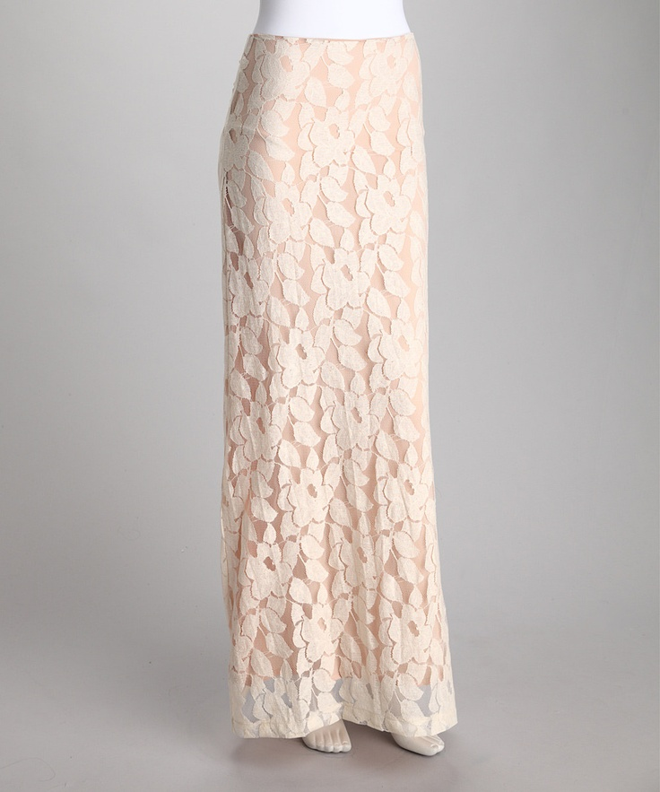 coralie lace maxi skirt