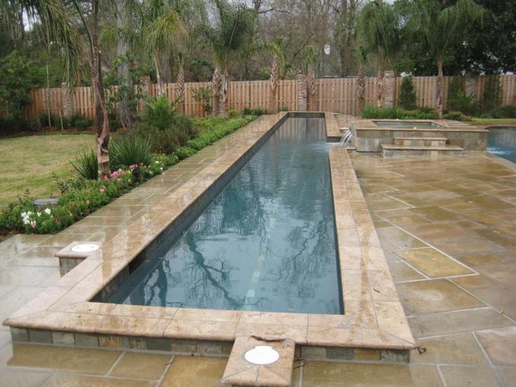 lap pool | Back/Front Yard Ideas. | Pinterest
