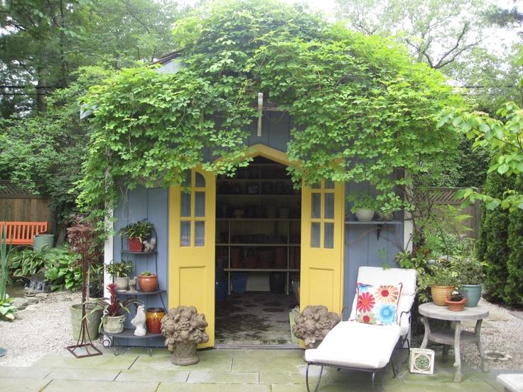 Pinterest Garden Shed Ideas