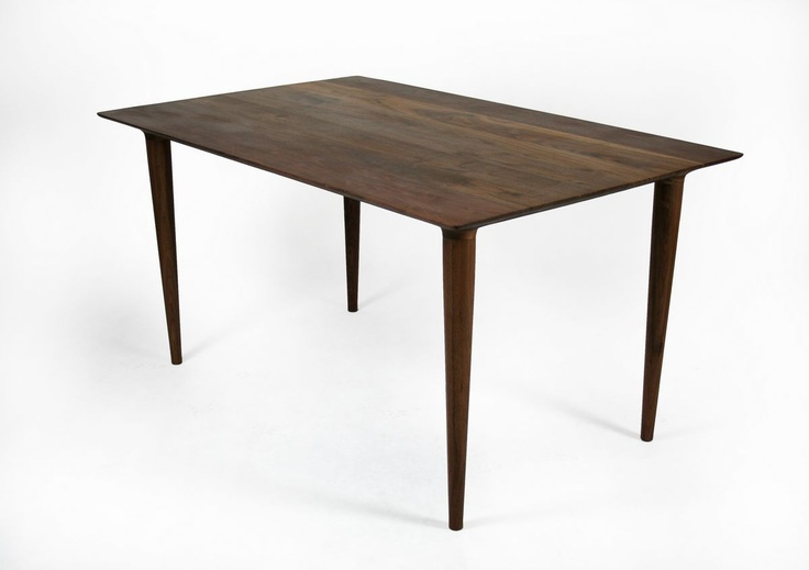 Walnut Dining Table By Whiteonwhite Covet Home Pinterest
