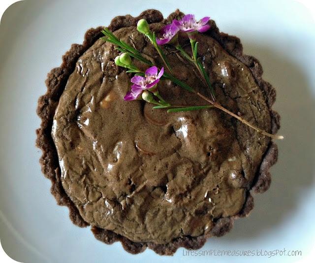 chocolate truffle tart | dessert | Pinterest