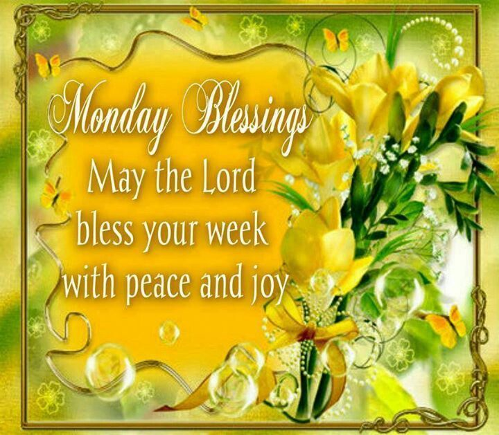 Image result for monday blessing